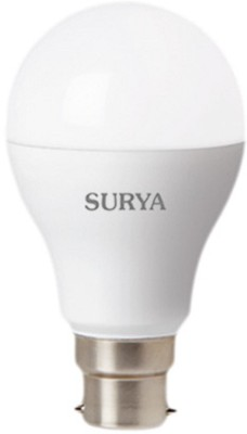 Surya 9W B22 810L LED Bulb (White, Pack Of 4)