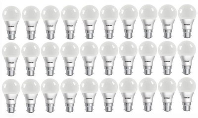 Eveready 5W B22 LED Bulb (White, Pack of 30)