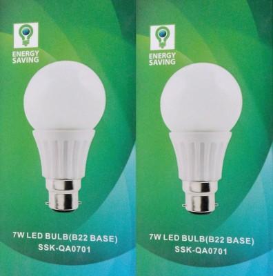 Syska Led Lights 7 W B22 LED Bulb(Pack of 2)