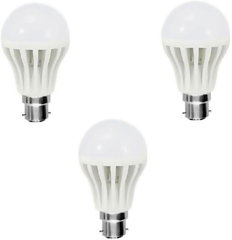 Home Delight 3 W Standard B22 LED Bulb(White, Pack of...