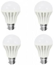 Xhaiden 18 W Standard B22 LED Bulb(White, Pack of 4)