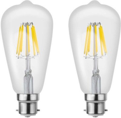 Imperial 16198 8W B22 LED Filament Bulb (White, Pack of 2)