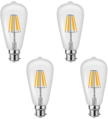 Imperial 16197 6W B22 LED Filament Bulb (Yellow, Pack Of 4)