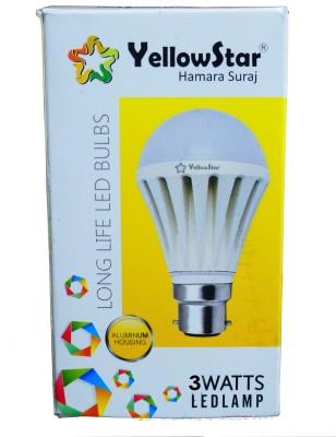 Yellowstar B22 LED 3 W Bulb