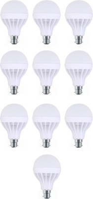 Flolite 3W B22 LED Bulb (White, Pack Of 10)