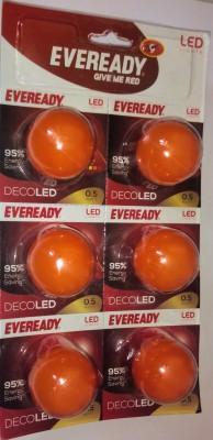 Eveready B22 D LED 0.5 W Bulb
