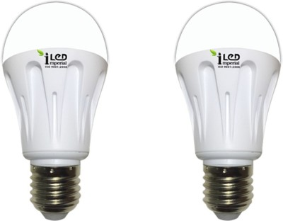 Imperial 10W 3574 E27 LED Premium Bulb (White, Pack of 2)