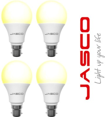 Jasco 5W E27 LED Bulb (Warm White, Pack Of 4)
