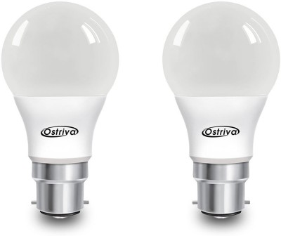 Ostriva 7 W LED Bulb (Warm White, Pack of 2)
