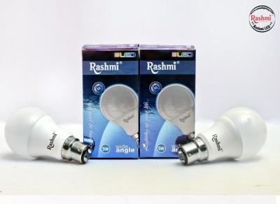 Rashmi-5W-B22-Wide-Angle-LED-Bulb-(White,-Pack-of-2)