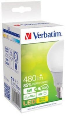 Verbatim - Mitsubishi B22 LED 6 W Bulb