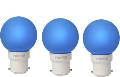 Pyrotech-0.5W-LED-Bulb-(Blue,-Pack-of-3)