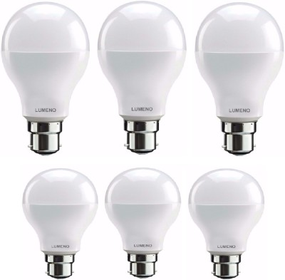 Lumeno-9W-,7W-B22-LED-Bulb-(White,-Pack-Of-6)