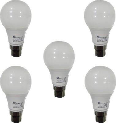 Syska Led Lights 5 W B22 LED Bulb(White, Pack of 5)