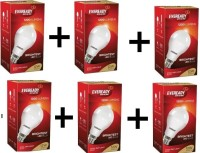 Eveready 12 W B22 LED Bulb(White, Pack of 6)