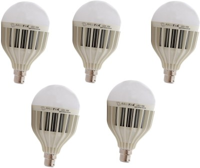 Aaditya 15W B22 LED Bulb (White, Pack Of 5)