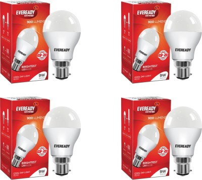 Eveready-9W-B22-LED-Bulb-(White,-Pack-Of-4)