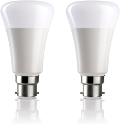 Syska Led Lights 5 W B22 LED Bulb(White, Pack of 2)