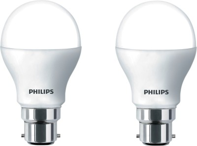 Philips 4 W B22 LED Bulb(Yellow, Pack of 2)