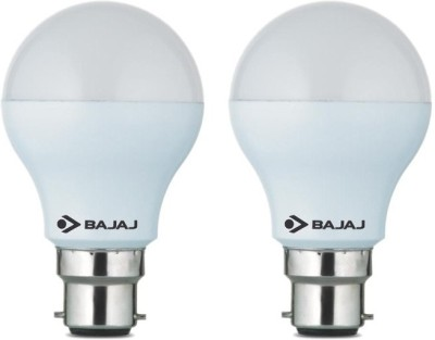 Bajaj 7 W B22 LED Bulb(White, Pack of 2)