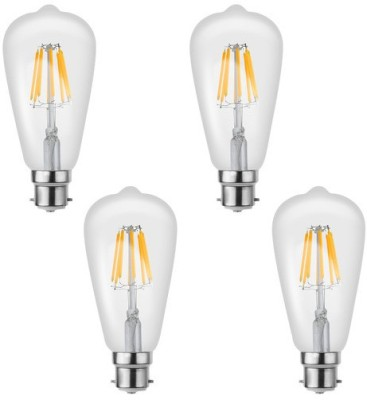 Imperial 16199 8W B22 LED Bulb (Yellow, Pack Of 4)