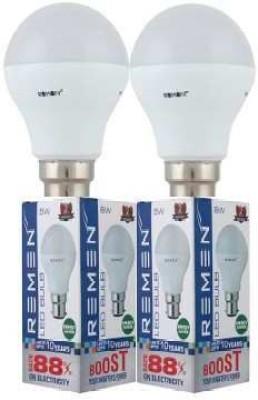 REMEN-5W-LED-Ultra-Efficient-Bulb-(White,-Pack-Of-2)