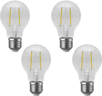 Imperial DYP02 2W E27 LED Filament Bulb (White, Pack Of 4)