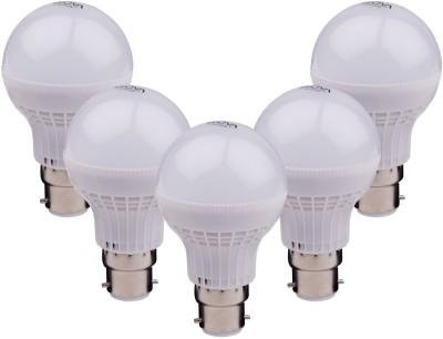 Ecova-7W-B22-560L-LED-Bulb-(White,-Pack-of-5)