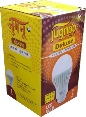 Jugnoo Delux 7 W LED Bulb (White, Pack of 3)