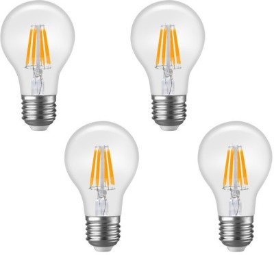 Imperial DYP01 6W E27 LED Filament Bulb (Yellow, Pack Of 4)