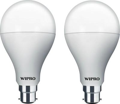 Wipro Garnet 5W B22 400L LED Bulb (Warm White, Pack Of 2)
