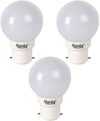 Ajanta-Delux-0.5W-LED-Bulb-(White,-Pack-of-3)
