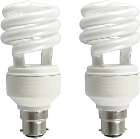 Osram 5 W Spiral E27 CFL Bulb(Yellow, Pack of 2)