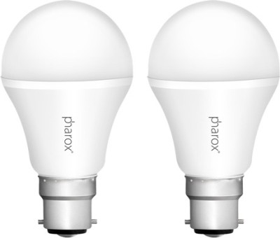 Pharox Apollo 7W B22 Led Bulb (Cool White, Set Of 2)