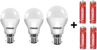 Eveready 5 W, 7 W, 9 W Standard B22 D LED Bulb(White, Pack of 7)