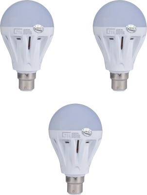 Lite India 3 W LED Bulb (White, Pack of 3)