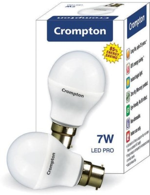 Crompton Greaves B22 7W LED Bulb (White)