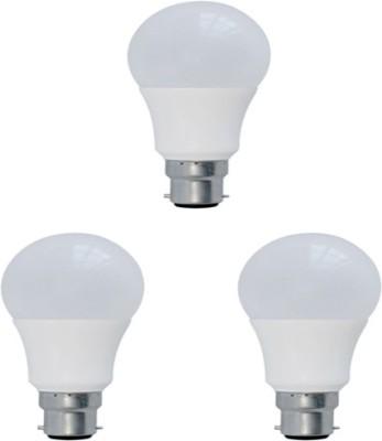 Syska Led Lights 5 W Spiral B22 LED Bulb(White, Pack of 3)
