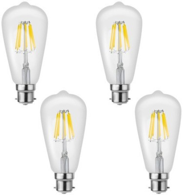 Imperial 16198 8W B22 LED Bulb (White, Pack Of 4)