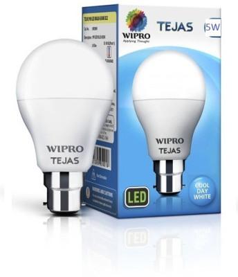 Wipro 5 W Standard B22 LED Bulb(White)