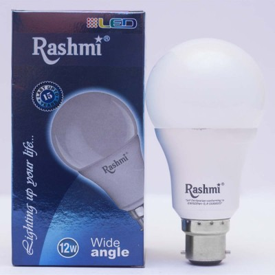 Rashmi 12W B22 1080L LED Bulb (White)