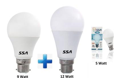 SSA Lightings B22 LED 9 W, 12 W, 5 W Bulb
