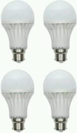 Green 18 W Standard B22 LED Bulb(White, Pack of 4)