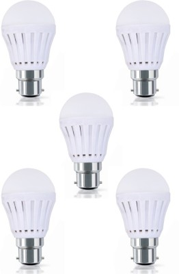 Flolite FLL9W5 9W LED Bulbs (White, Pack of 5)