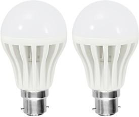 Xhaiden 25 W Standard B22 LED Bulb(White, Pack of 2)