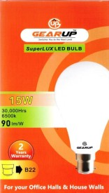 GearUp 15 W LED SuperLux 15W Bulb