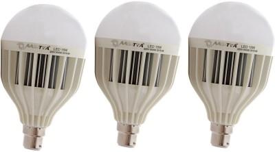 Aaditya 15W HP LED Bulb (White, Pack Of 3)