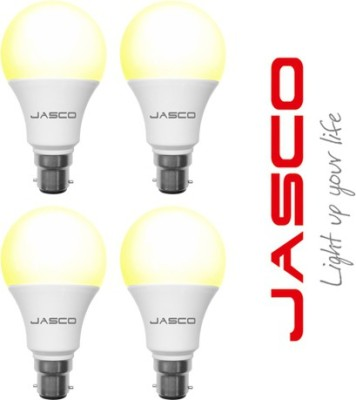 Jasco 7W B22 LED Bulb (Yellow, Pack Of 4)