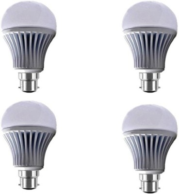 Yellowstar 12W B22 LED Bulb (White, Pack Of 4)