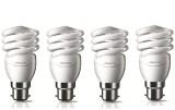 Philips 15 W B22 CFL Bulb (White, Pack o...